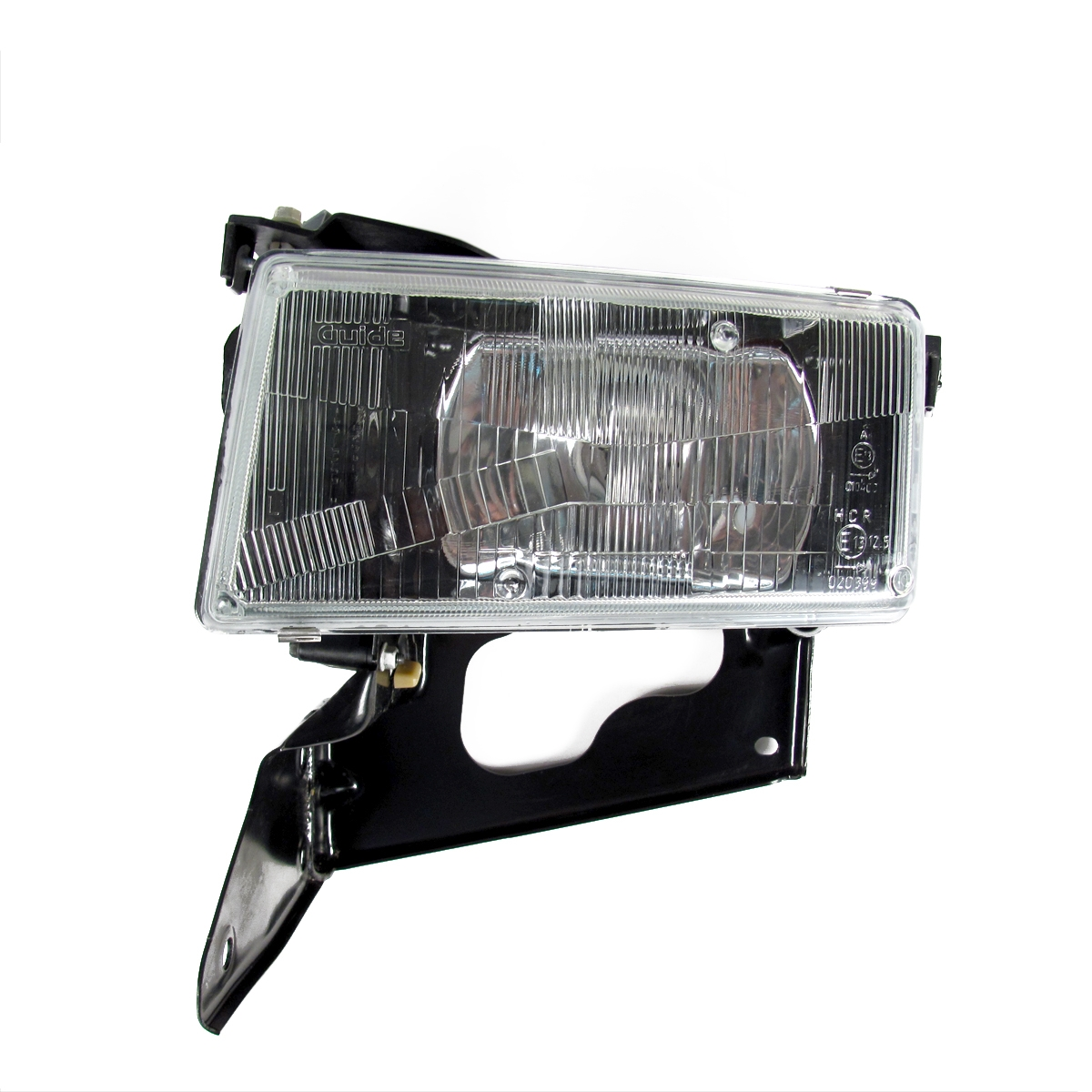 Driver Side (LH) Headlamp Assembly with Actuator Motor - Japan and UK Left  Hand Rule of Road T85 GM Part nos  10351405, 10320755