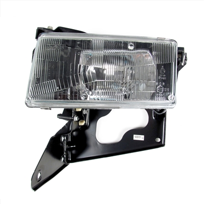 Driver Side (LH) Headlamp Assembly with Actuator Motor - Europe RH Rule of Road T84 Factory Part nos. 10351407, 10320757 - SMC Performance and Auto Parts