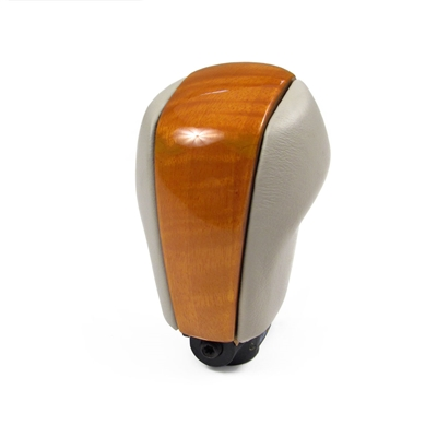 Shale Shift Knob with light eucalyptus wood for a 2005-2006 Cadillac XLR with the FAB, 15I Options - SMC Performance and Auto Parts