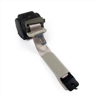 Shale Passenger Side Seat Belt with Retractor and Shale Lower Trim Ring Factory Part no. 10354127 - SMC Performance and Auto Parts