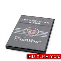 Cadillac Navigation System Map Disc for Europe with Manual Factory Part nos. 10389457, 10348778 - SMC Performance and Auto Parts