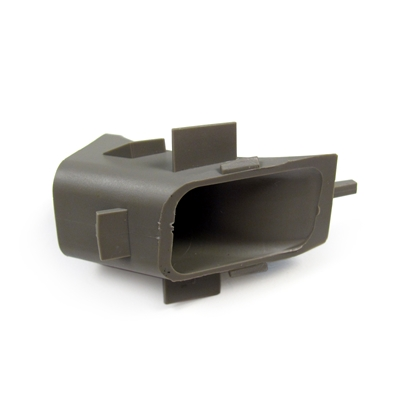 Inner Half Air Distribution Floor Vent Outlet in Pewter (21I) Factory Part no. 10403257, 10299892 - SMC Performance and Auto Parts