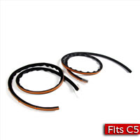 Pair of Hood Side to Fender Seals Factory Part nos. 10404247, 10290318 - SMC Performance and Auto Parts