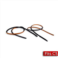 Pair of Sealing Strips for Rear Trunk Lid to Quarter Panel Factory Part no. 10408626 - SMC Performance and Auto Parts