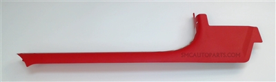 Red Driver Door Step Sill Plate for a 2000-2004 Chevrolet C5 Corvette - SMC Performance and Auto Parts