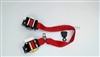 Red Passenger Seat Belt Kit (Retractor Side) for a 2000 Chevrolet C5 Corvette Coupe - SMC Performance and Auto Parts