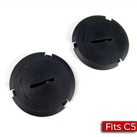 Capsule Headlight Trim Plug GM Part nos. 10435410, 10417504, 10433272 - SMC Performance and Auto Parts