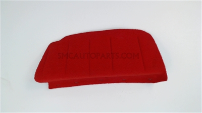 Red Electronic Suspension Module Finish Cover for a 2001-2004 Chevrolet C5 Corvette - SMC Performance and Auto Parts