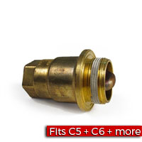 Engine Block Heater - 400W 115V 3 Pin Brass Factory Part no. 12560179 - SMC Performance and Auto Parts