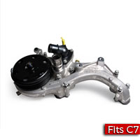 Water Pump Assembly with Manifold, Thermostat, Gaskets and Bolts Factory Part nos. 12676472, 12657429 - SMC Performance and Auto Parts