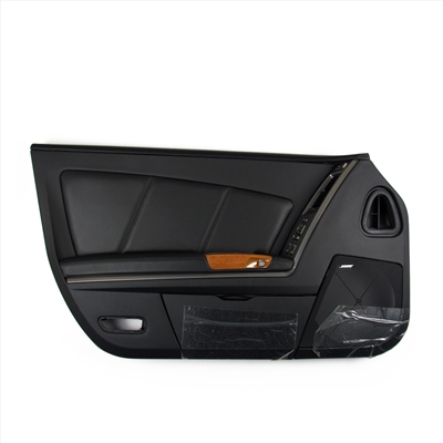 Driver Side Inner Door Panel Assembly in Black and Light Eucalyptus GM Part nos. 15259341, 10334524, 10353239, 10335176, 10315820 - SMC Performance and Auto Parts