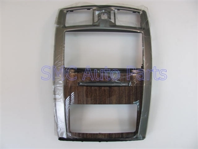 instrument panel center trim bezel plate, dashboard trim. (15827768). FAA, Mukonto interior trim options. - SMC Performance and Auto Parts