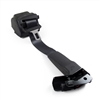 Black Passenger Side Seat Belt with Retractor and Black Lower Trim Ring Factory Part nos. 15846950, 15930417, 15140307 - SMC Performance and Auto Parts