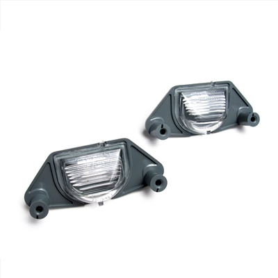 Pair of License Plate Lights/Lamps Factory Part nos. 16519986, 00912116 - SMC Performance and Auto Parts