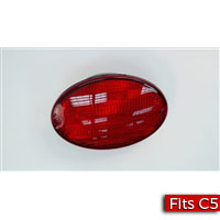 Left Tail Lamp, Tail Light for a 1997-2004 Chevrolet C5 Corvette - SMC Performance and Auto Parts