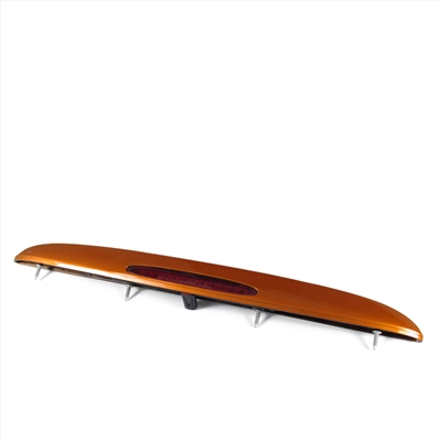 Rear Spoiler Assembly with 3rd Brake Light For C6 Z06 - Atomic Orange GM Part nos. 19158349, 25839862, 10333480, 10440719 - SMC Performance and Auto Parts