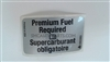 Premium Fuel Required Label 20933713 - SMC Performance and Auto Parts