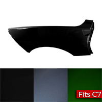 C7 Corvette Convertible Passenger Side Quarter Panel Factory Part nos. 23336868, 23226589, 23197625, 20980045 - SMC Performance and Auto Parts
