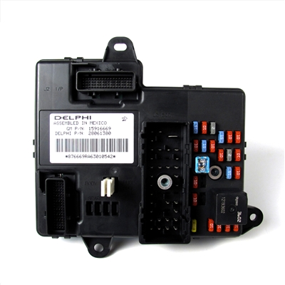 BCM, Body Control Module Factory Part no. 25790451, 15916669 - SMC Performance and Auto Parts