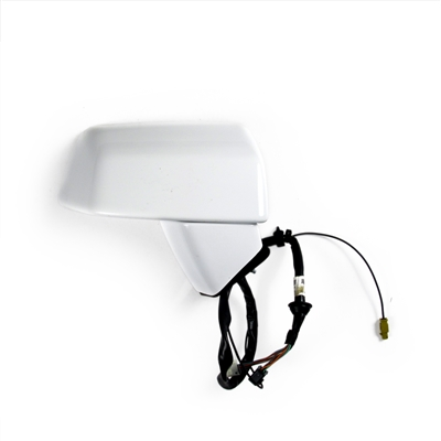Right Side View Mirror with XM Antenna - Arctic White Factory Part no. 25818335, 15227005 - SMC Performance and Auto Parts