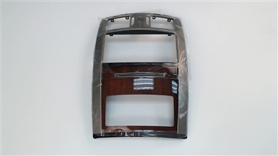 Dark Eucalyptus Center Dashboard Trim Bezel Plate for a 2006-2008 Cadillac XLR Base with FAC, 18I, and 19I Options - SMC Performance and Auto Parts