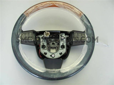 Steering Wheel. Ebony with Light Eucalyptus - SMC Performance and Auto Parts