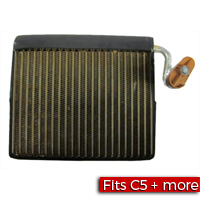 A/C Evaporator Core for a 1997-2004 Chevrolet C5 Corvette - SMC Performance and Auto Parts
