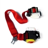 Red Convertible Driver Seat Belt with Shoulder Retractor Part no. 88956042, 88955156 - SMC Performance and Auto Parts
