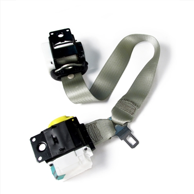 Shale Convertible Passenger Seat Belt with Shoulder Retractor Part no. 88956051, 88955170 - SMC Performance and Auto Parts