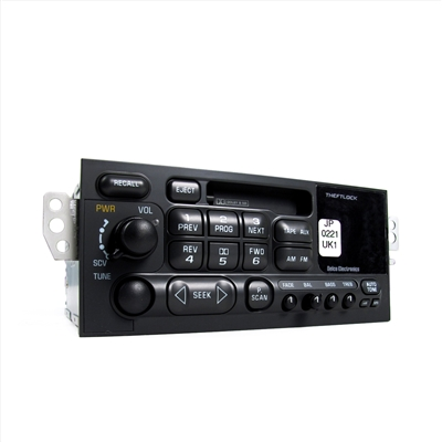 Radio, AM/FM Stereo and Tape Player Japanese Export Frequencies Factory Part nos. 09390221, 09380861, 16266891, 9390221 - SMC Performance and Auto Parts