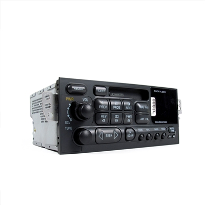 Radio, AM/FM Stereo and Tape Player USA/North American Frequencies Factory Part nos. 09390231, 09380791, 16257631, 16266881, 9390231 - SMC Performance and Auto Parts