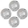 "Set of four Polished Wheel Center Cap for a 2004-2008 Cadillac XLR with 18"" Wheels - SMC Performance and Auto Parts"