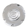 Chrome Wheel Center Cap for a 2006-2008 Cadillac XLR with 7 Spoke Wheels - SMC Performance and Auto Parts
