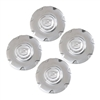 Set of 4 Chrome Wheel Center Caps for a 2006-2008 Cadillac XLR with 7 Spoke Wheels - SMC Performance and Auto Parts