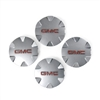 "Set of 4 Wheel Center Caps for 18"" 6 Spoke Metallic Silver Painted Aluminum Wheels Factory Part no. 9597570 - SMC Performance and Auto Parts"