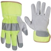 <h3>Hi-Vis Bright Lime Yellow Gloves</h3>