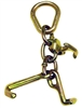 <h3>Forged Grade 70 Cluster w/ Mini J-hook, R-hook, and T-hook on Pear Link</h3>