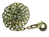<h3>Pair of 10ft 5/16 Chain with Wide Mouth Slip Hook - Safety Chain</h3>
