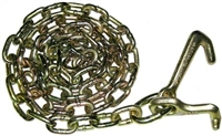 <h3>5ft Grade 70  5/16 Chain with Cluster On One End</h3>