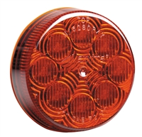 <h3> 2 1/2 LED MARKER LIGHT RED 8 LED'S</h3>