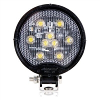<h3> Round Light Weight Composite 500 Lumens 9 LED Work Light</h3>