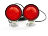 <h3>Incandescent Round-Magnet Tow Lights w/ 30 Foot Cord</h3>