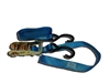 "<h3>1"" x 9' Ratchet Tie Down w/ 2 S-Hooks Short Side w/ Loop</h3>"