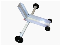 <h3>Motorcycle Tow Dolly For Flatbed, (includes seven ratcheting straps)</h3>