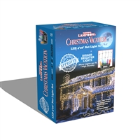 LED Clark Griswold 100L M8 Net Lights - Multi (Qty 12)
