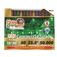 "LED C6 Multi 6"" Spacing (12 qty) - Retail Box"