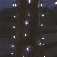 Tree Trunk LED M8 100L Net - Pure White (Qty 12)