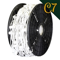 "C7 Cord - White (SPT 1) - 12"" Spacing (1000')"