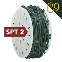 "C9 Cord - Green (SPT 2) - 12"" Spacing (1000')"