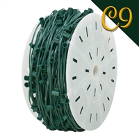 "C9 Cord - Green (SPT 1) - 15"" Spacing (1000')"